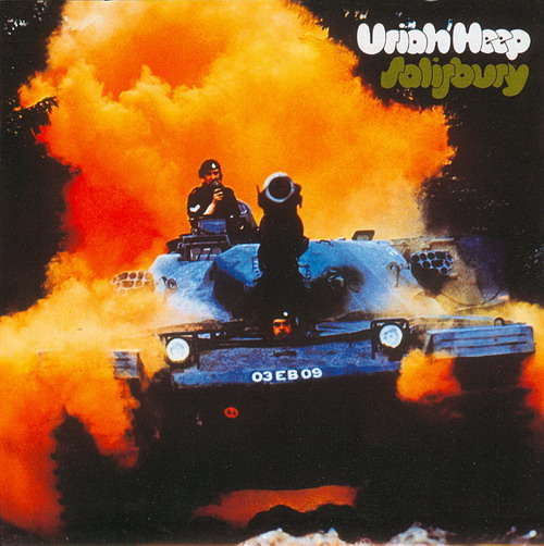 Uriah Heep Salisbury album cover