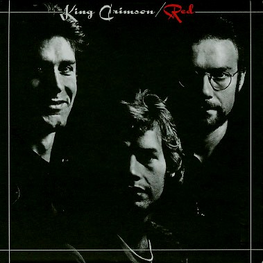 King Crimson Red album cover