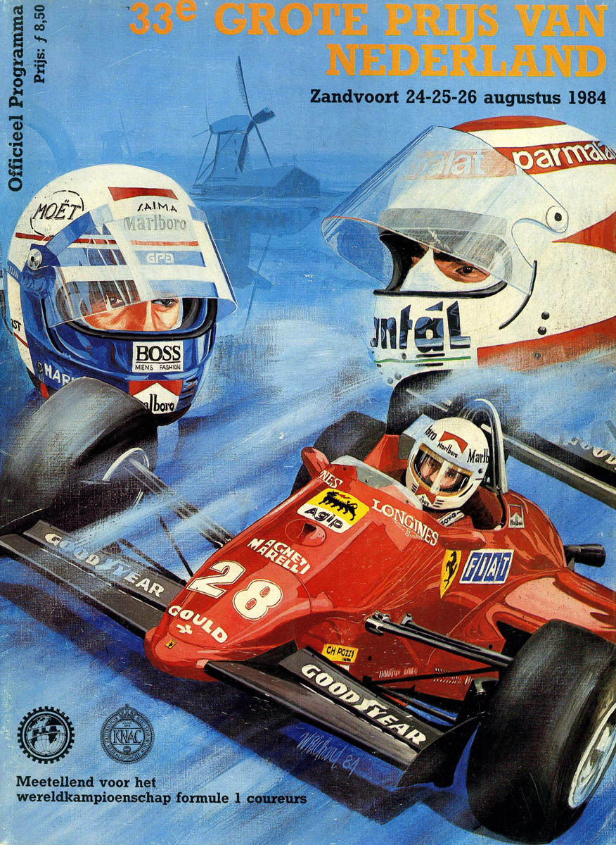 1984 Formula 1 World Championship Programmes The Motor