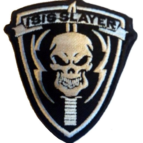 Isis Slayer velcro patch wit