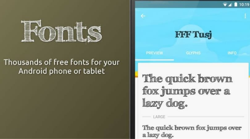 Download Download the 85 Best Fonts for Android
