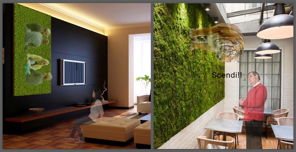 Le pareti vegetali non sono altro che dei giardini posti in verticale, con piante affiancate le une. Verde Verde Ovunqueee Anche Sulle Pareti