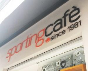 Insegna Sporting Cafè