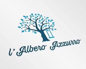 Logo L'Albero Azzurro