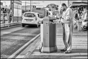 Mister X in piazza Stazione, 2018. © Massimo Lensi