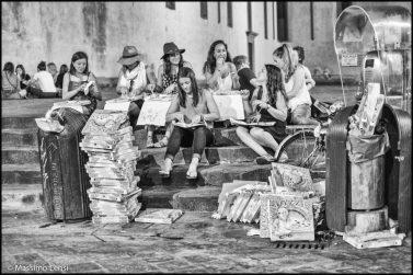 Piazza Santo Spirito, Firenze. © Massimo Lensi