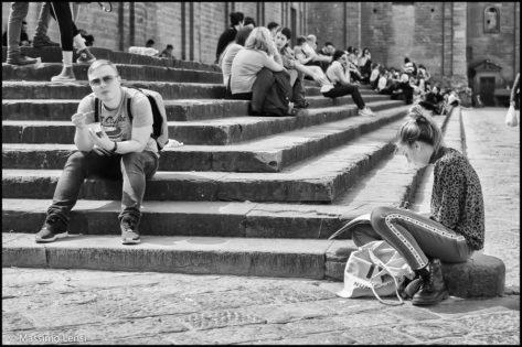 Piazza San Lorenzo, Firenze. © Massimo Lensi