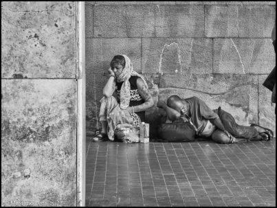 Vivere in stazione. © Massimo Lensi