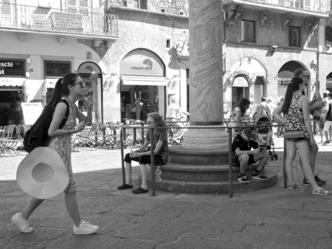 Piazza San Giovanni, Firenze. © Grazia Galli