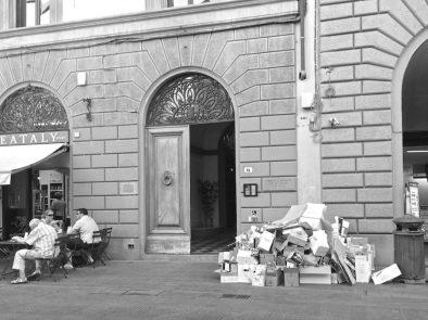Via Martelli, Firenze. Foto © Grazia Galli