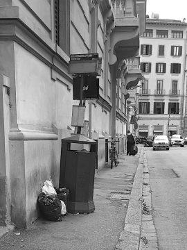 Via Fiume,, Firenze. Foto © Grazia Galli