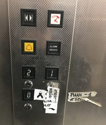 Mercato coperto di San Lorenzo ascensore parcheggio