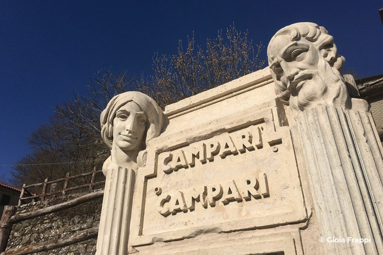 Fontana del Campari - Progettoideal chiusi della verna (©gioia frappi)