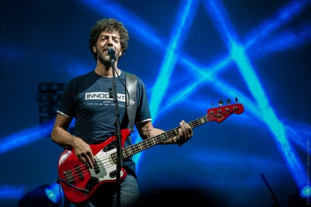 Max Gazzè in the Blue