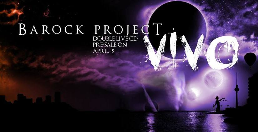 Barock Project to release 'VIVO', a double live album on 23rd March 2016 – by Progradar
