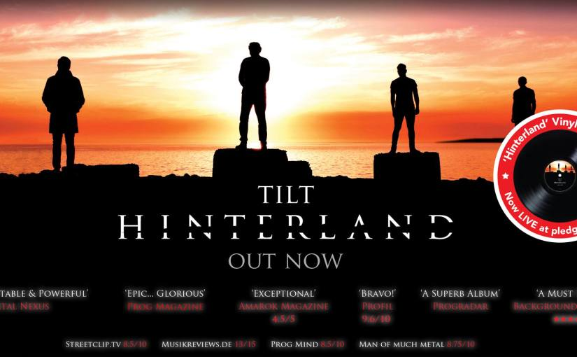 TILT release HD version of 'Against the Rain' video & Pledge Music Vinyl Campaign