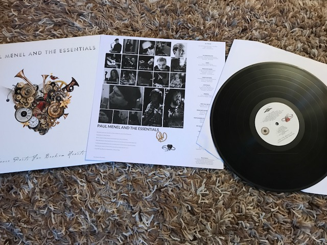 Vinyl Review – Paul Menel And The Essentials – Spare Parts For Broken Hearts – by Progradar