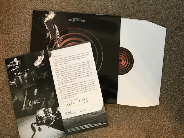 Vinyl Review – Tess Of The Circle – Amplify – Anniversary Edition – by Progradar