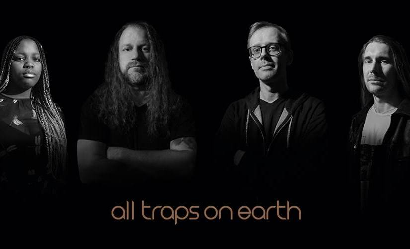 """AMS Records Announce Release of ALL TRAPS ON EARTH's debut record """"A Drop of Light""""."""