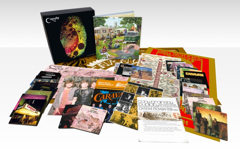 Caravan Announce the Release of Who Do You Think We Are? A 37 CD Deluxe, limited edition box set on 20th August.