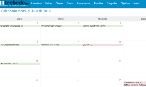 calendario crm facil para empresas marketing