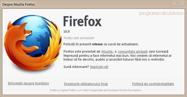 Download Firefox 10