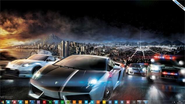 Tema Need for Speed pentru Windows 7