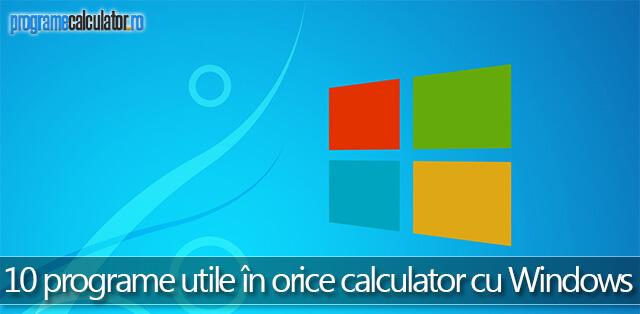 programe utile pentru calculator