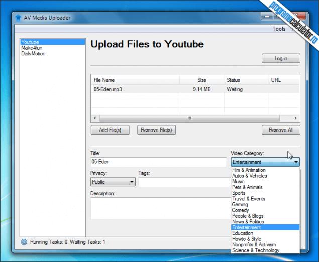 3-AV Media Player Morpher-upload-media