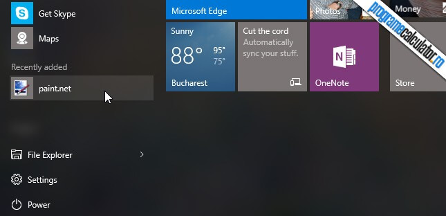 program mutat in windows 10