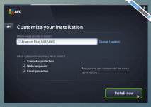 AVG Protection - Componente