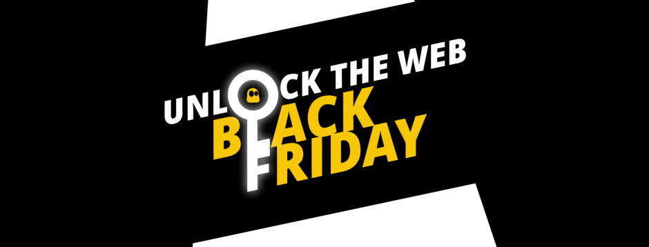 CyberGhost Black Friday and Cyber Monday - Reducere de 83%