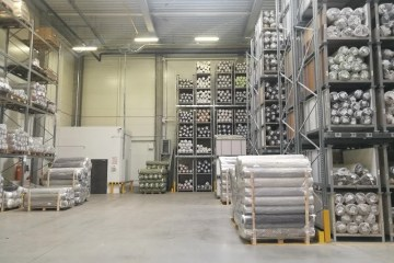 Warehouse Management System magazyn tkanin