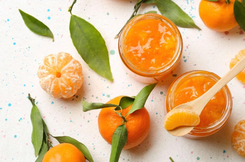 Compote de clémentine, pomme et vanille
