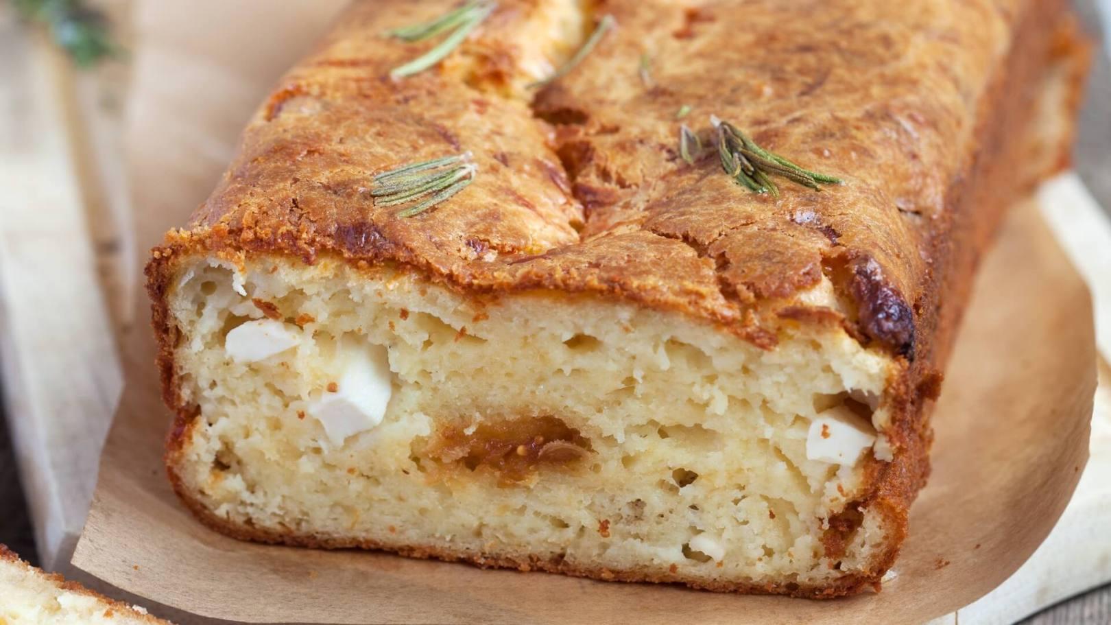 Cake salé fromage-pommes