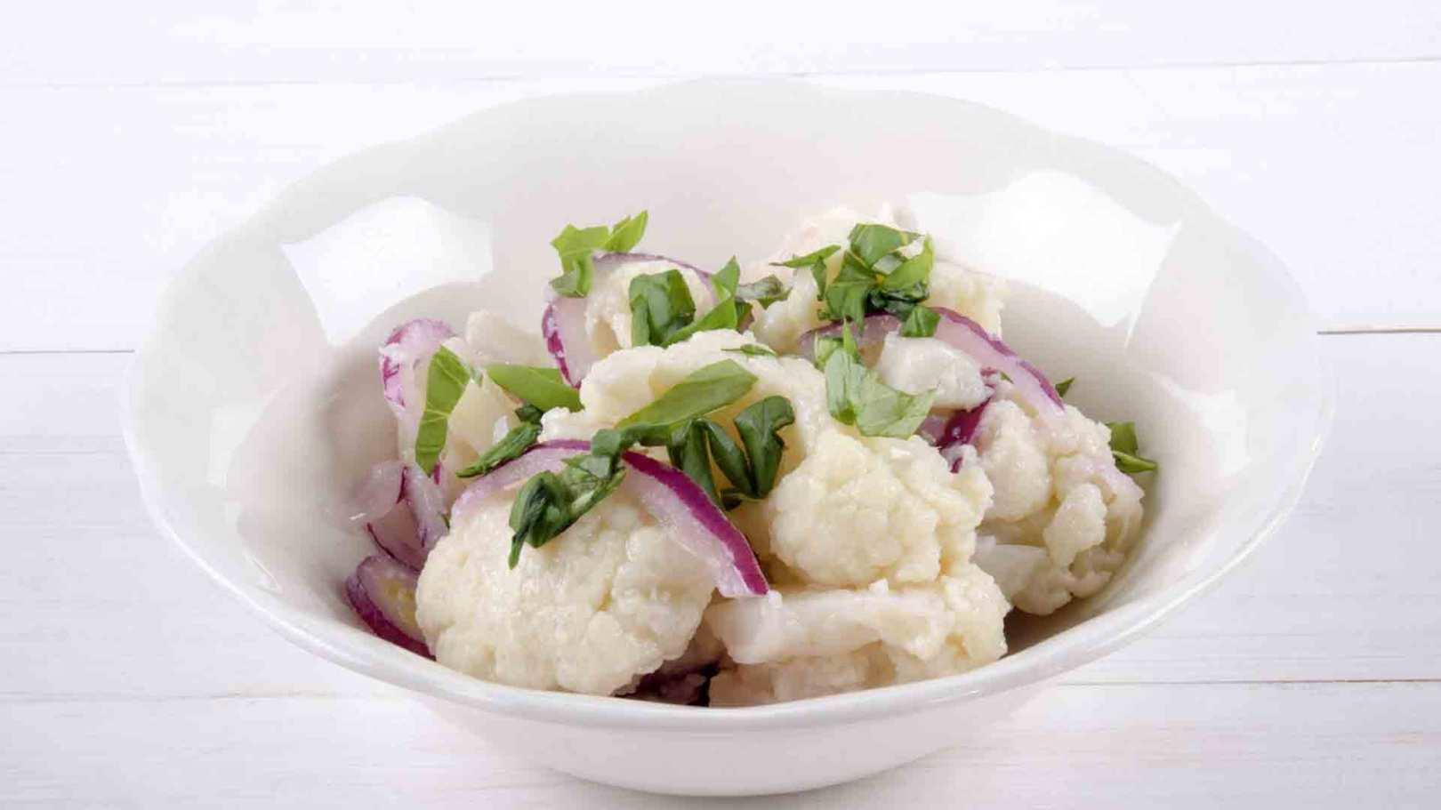 Chou-fleur en salade