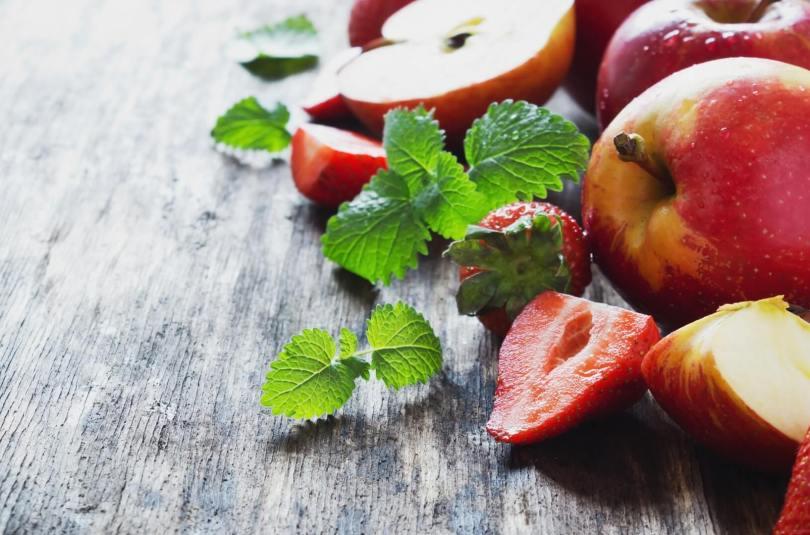 Compote de pomme fraises