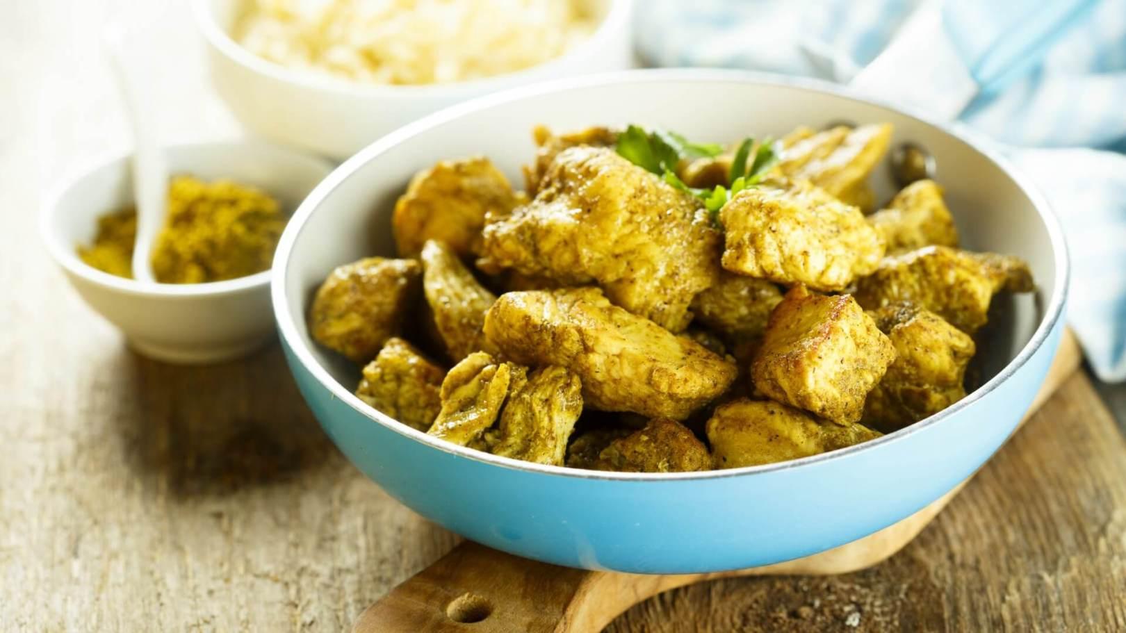 Curry de panais à l'agneau