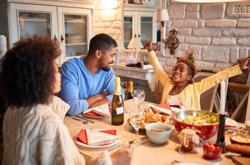 Les besoins nutritionnels d'une famille
