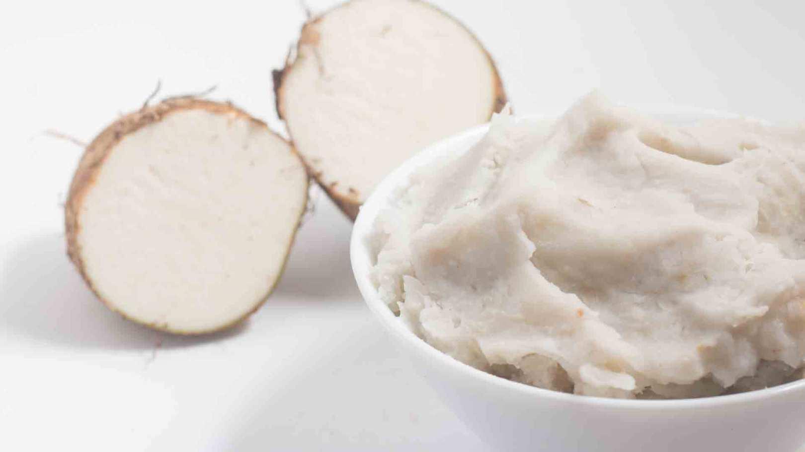 Purée de manioc