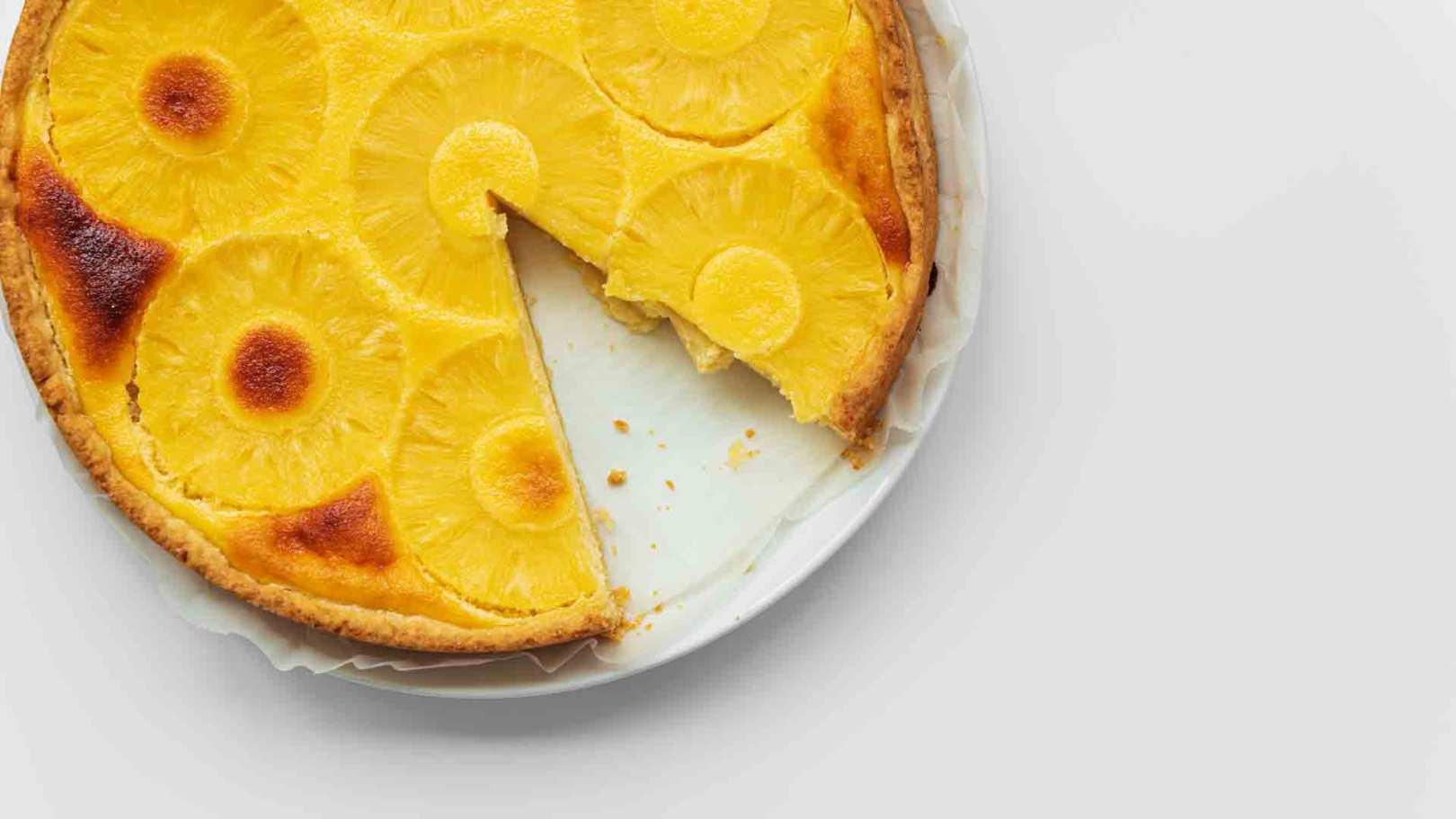 Gâteau yaourt à l'ananas