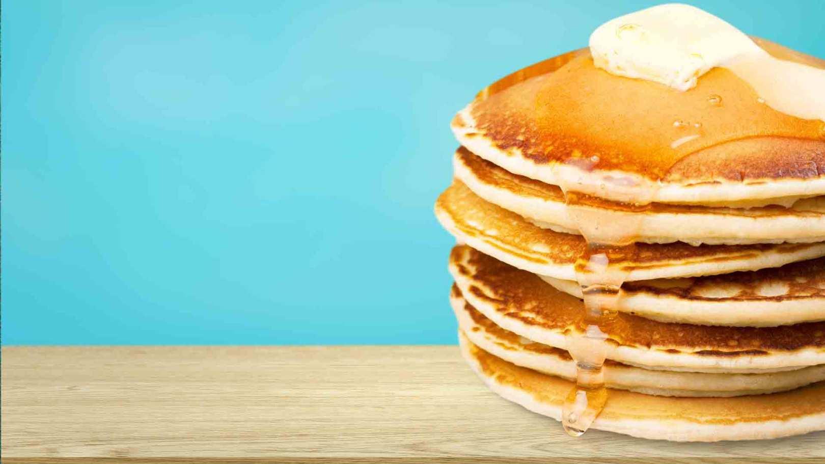 Pancakes à la banane plantain