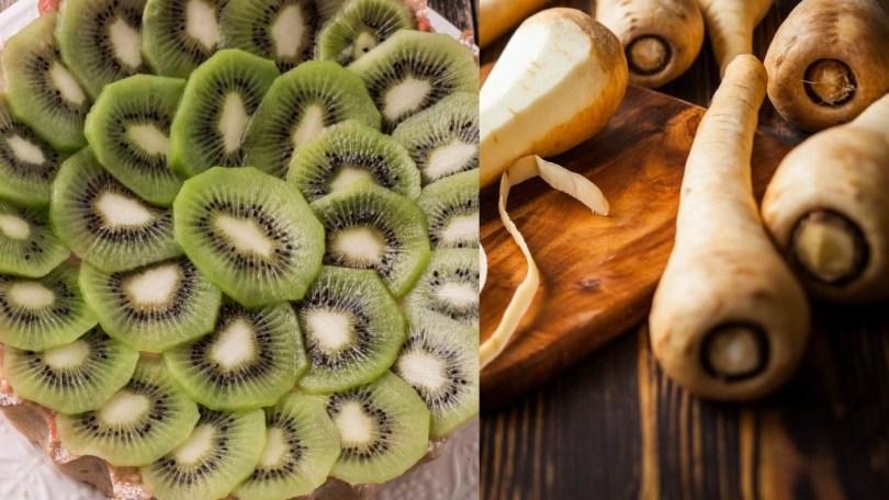Top recettes d'automne pour bébé de 4 à 6 mois autour du panais et du kiwi