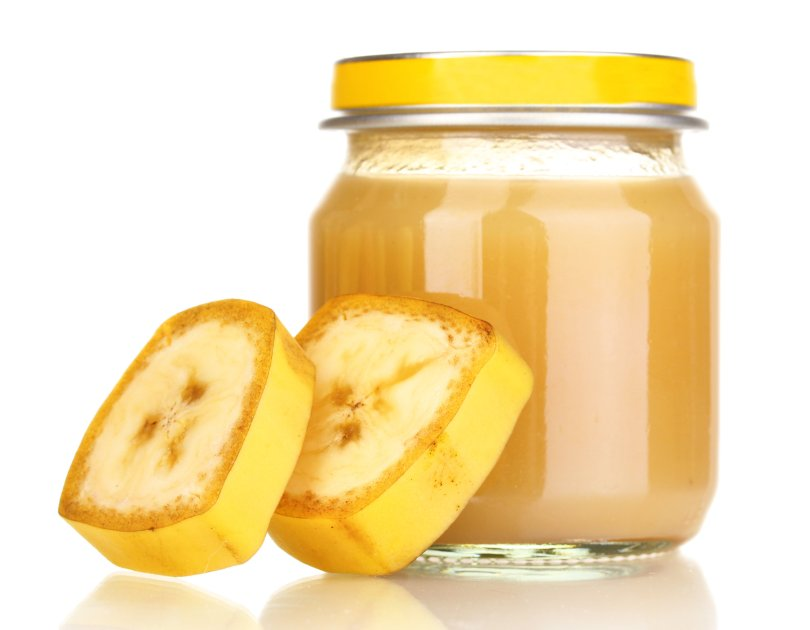 Purée de banane plantain pour bébé