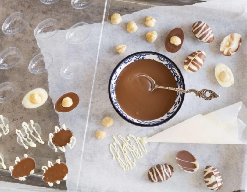 Chocolats maison pour Pâques