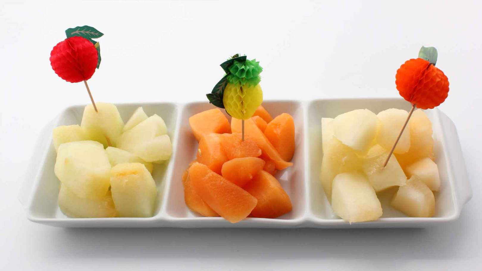 Trio de melons
