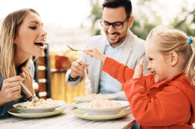 C'est quoi une bonne alimentation pour la famille ?