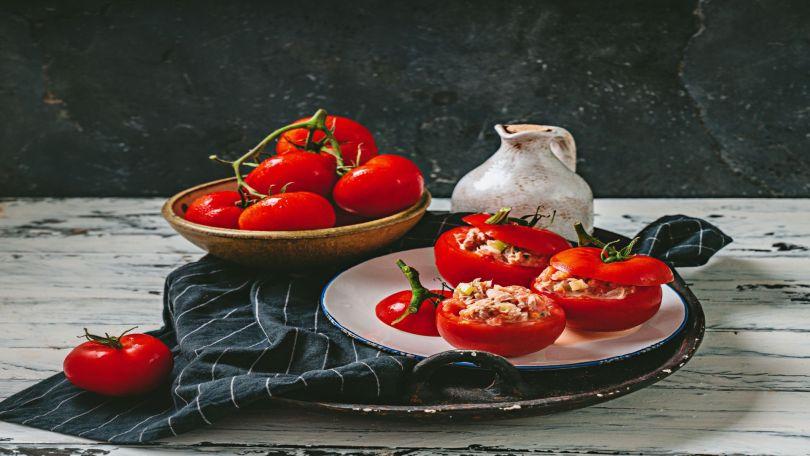 Tomates fraîcheur au thon (froides)