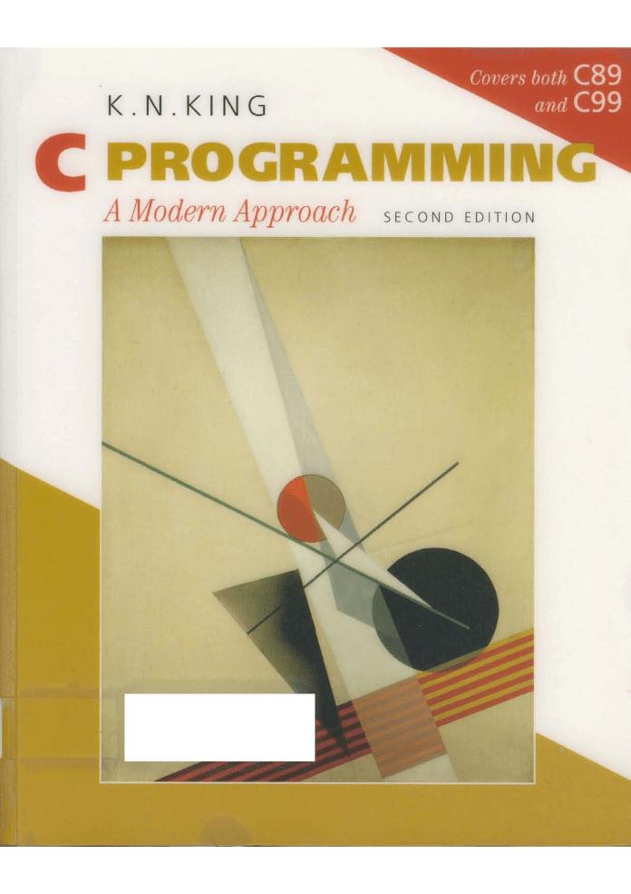C Programming: A Modern Approach