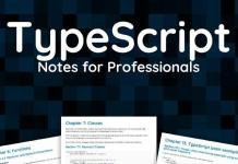 TypeScript notes for professionals